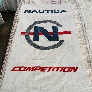 Vintage NAUTICA Beach Towel